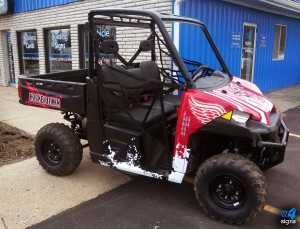 w4 Signs ATV Vinyl Graphics