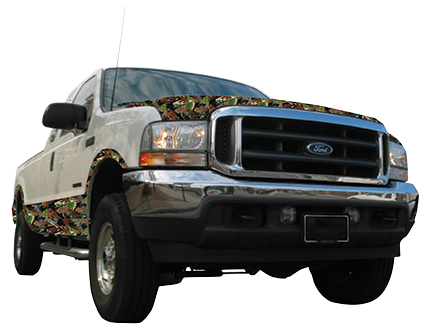 Camo Truck Package W4 Signs