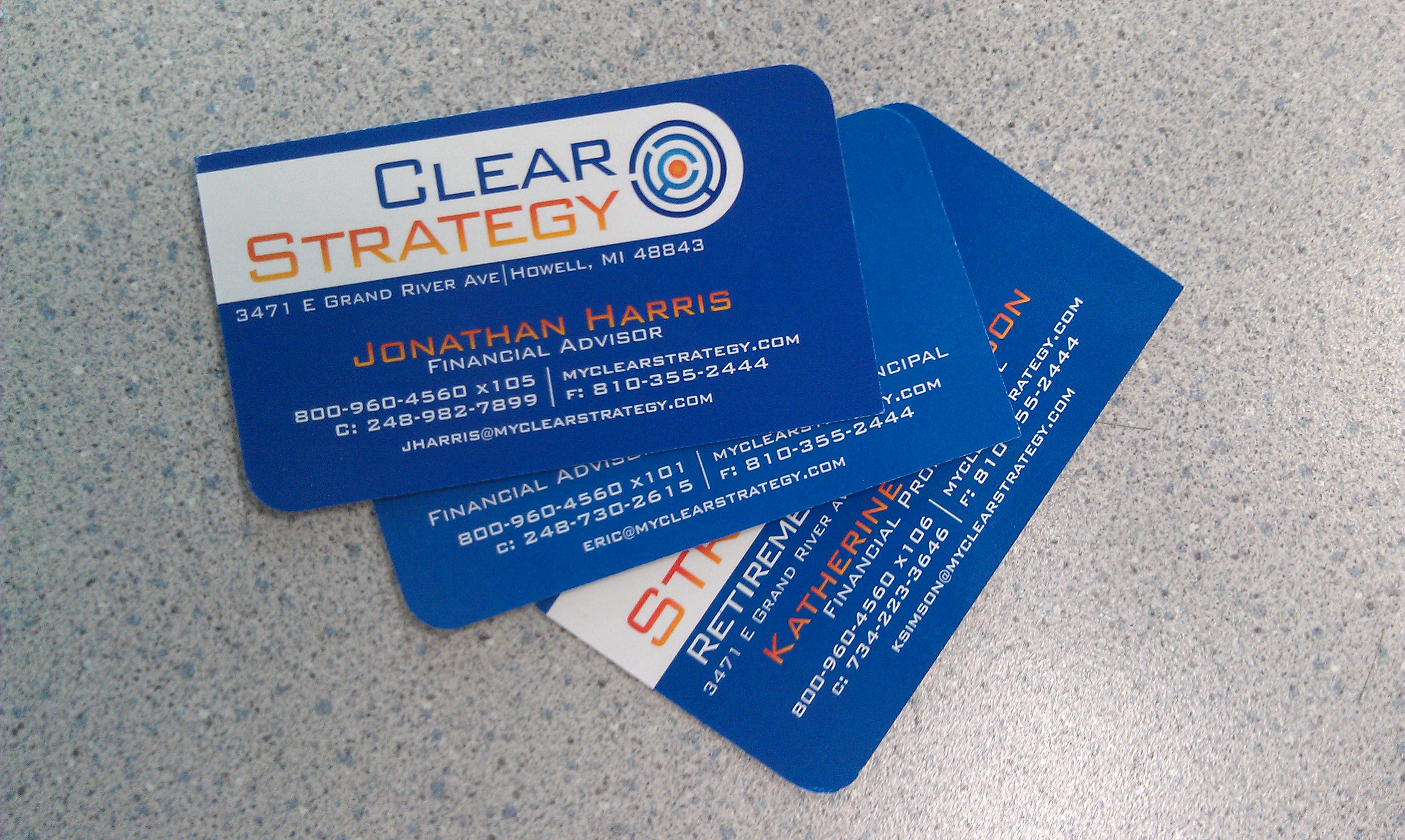 business cards w4 signs