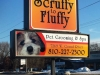 pet groomer light box sign