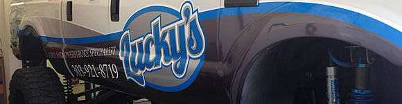 Vehicle Wrap with business branding